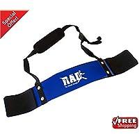 Rad – Isolateur de biceps pour musculation avec haltères
