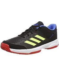 cheap for discount aa250 70e3f adidas Court Stabil Jr Scarpe da Pallamano Unisex bambini, Nero (Core Black Hi