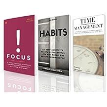 Self Discipline : 3 Manuscripts - Focus, Habits, Time Management (English Edition)