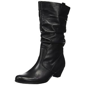 Stiefel Damen Mit Absatz Schwarz