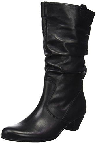 Gabor Shoes Damen Comfort Basic Stiefel, Schwarz (57 Schwarz (Micro)), 38.5 EU