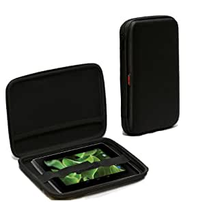 MiTab Eva Hard Nylon Protective Tough Carry Case For The Advent Vega Tegra Note (Hard Protective, Black)