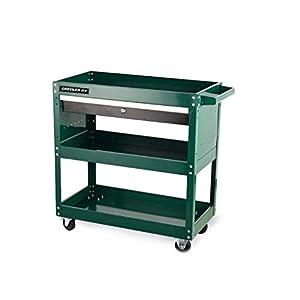 3 Layer Multifunction Utility Cart, Four Wheels Portable Tool Storage Cart Goods Rack - Car Repair Mobile Shelf Tool Shelf zhaoyun   11