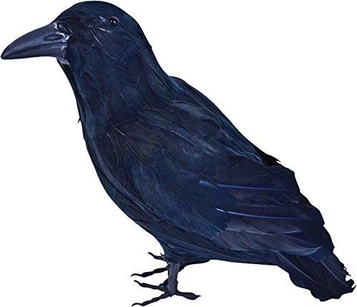 Halloween Kostüm Horror Requisit Dekoration Stuffed gefedertes schwarz Rabe - Krähe Rabe Kostüm