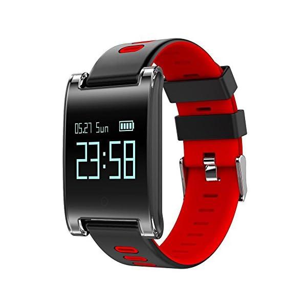 Fitness Tracker Bracelet Wulifang Appel Cardiofréquencemètre Smart Bluetooth Hommes Rappel Hypertension Watch Activity TOZlPkXuwi