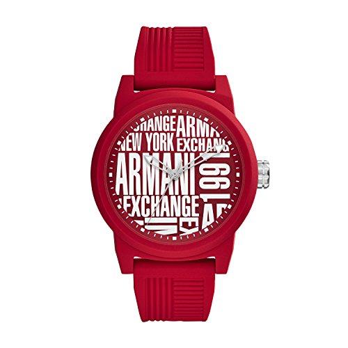 Armani Exchange Orologio Analogico Quarzo Uomo con Cinturino in Silicone AX1445