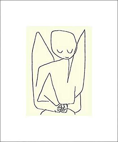 """Kunstdruck/Poster: Paul Klee Vergesslicher Engel 1939\"""" - hochwertiger Druck, Bild, Kunstposter, 60x50 cm"""