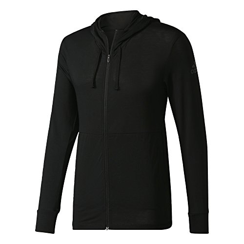 adidas Herren Workout Fullzip Lite Jacke, Black, L