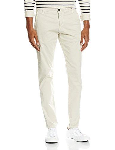 SELECTED HOMME Herren SHHONELUCA Moonstruck ST Pants NOOS Hose, Elfenbein, W32/L34 (Herstellergröße: 32) - Homme Auge