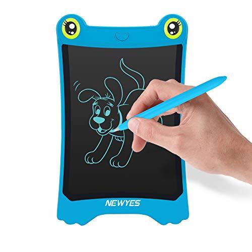 NEWYES LCD Kinder Tablet Zeichentafel Frog Pad - 8,5 Zoll - Blau