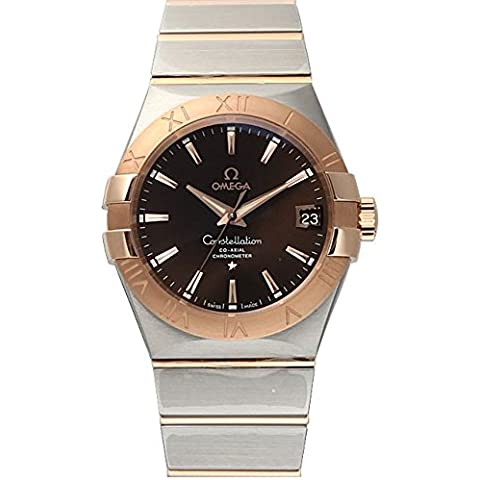 Omega 123.20.38.21.13.001costellazione orologio da uomo, 38mm 18KR