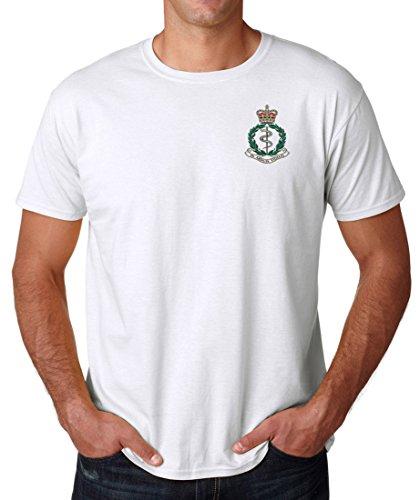 Army Medical Corps ramc Logo–Ufficiale dell' esercito britannico cotone t shirt da militare online White