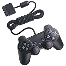 Sony PS2 Dual Shock 2 Wired Controller ,Black