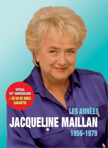 Les Années Jacqueline Maillan (1956-1979) - SPÉCIAL 20ème ANNIVERSAIRE - Coffret 3 DVD - Ses meilleurs sketches à la télévision