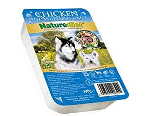 Case Of 18 Naturediet Chicken 390g Dog Food