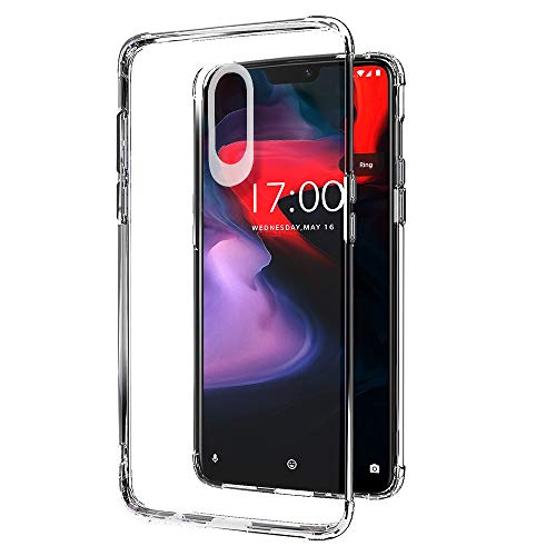 Amazon Brand – Solimo Protective Mobile Cover for OnePlus 7 (Transparent)