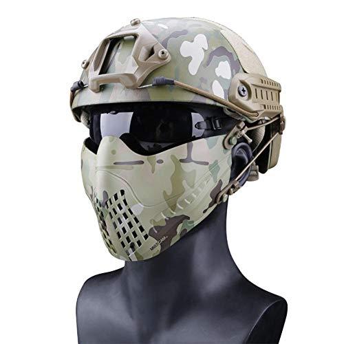 Máscara Protectora Rostro Completo Camuflaje: máscara