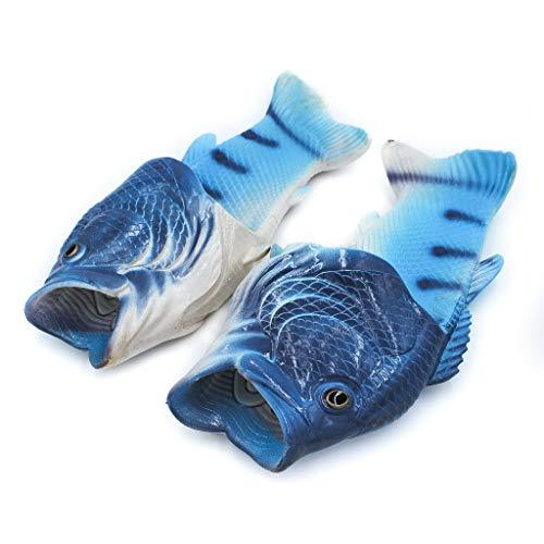 (Coddies Blau Fisch-Flops | Strandschuhe, Flip Flops, Freizeitschuhe, Hausschuhe, Duschschuhe und Sandalen für Männer, Frauen und Kinder (38/39 EU Blau) …)