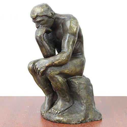 AINIYF Rodin Pensador Estatua Escultura Arte Fino
