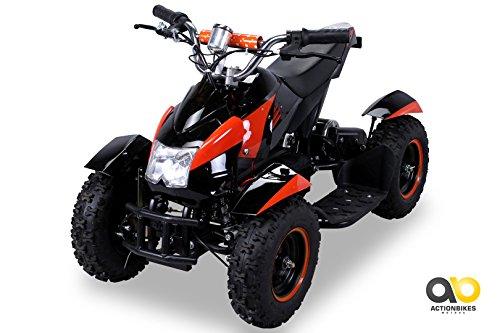 Mini Elektro Kinder ATV Cobra 800 Watt Pocket Quad (orange)