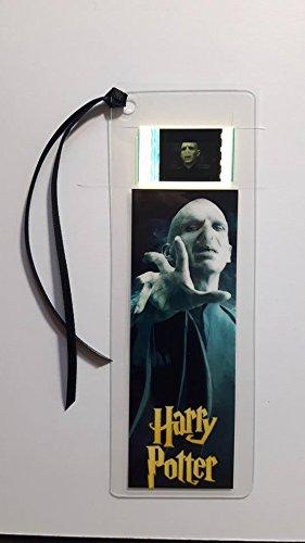 Lesezeichen, Motiv: Harry Potter, Lord Voldemort, Filmandenken mit Filmzelle (Harry-potter-film Zelle Lesezeichen)