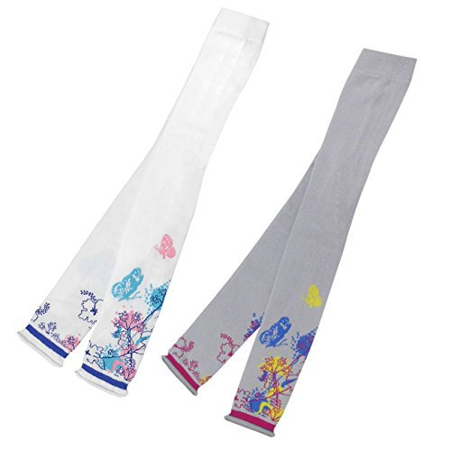 Ergora Kinder Leggings Mädchen Made in Germany Pearl Grey Größe 110-116 Leggings Freizeithose