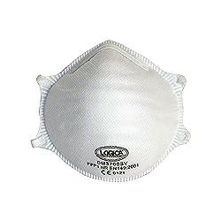 Logik-10PZ Einweg Mundschutz faltbar FFP1NR Schutz Staub Rauch