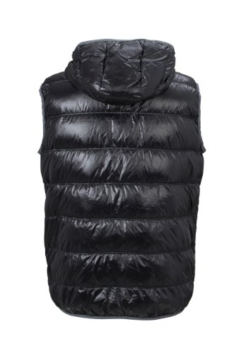Men's Down Vest im digatex-package Black/Grey