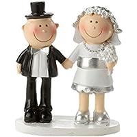 Boda Par de bodas de plata 25años Decorar Tartas, 5,5cm de boda