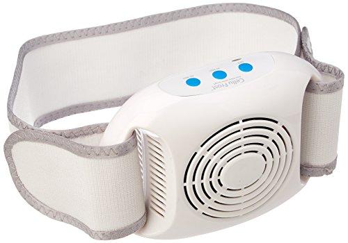 Cellu Frost Gerät zur Verringerung von Cellulite durch kalte Lipolyse-Technologie, für Bauch/Arme/Hüften, Weiß (60 Web-gürtel)