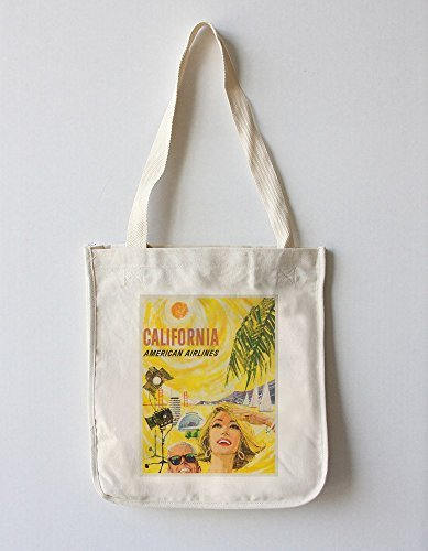 american-airlines-california-vintage-poster-artist-boyle-usa-c-1960-100-cotton-tote-bag-reusable-by-