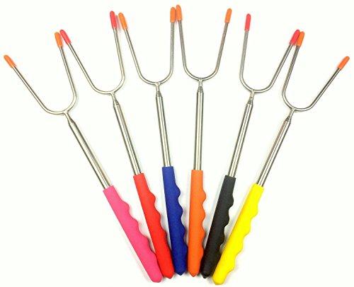 yisama-set-de-6-brochettes-or-fourchettes-extensibles-xxl-jusqua-a-115-cm-en-acier-inoxydable-faire-