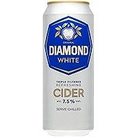 Diamante blanco de sidra de 500 ml original (paquete de 24 x 500 ml)