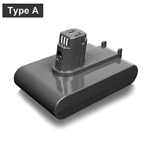 FLAGPOWER 22.2V 2000mAh Rechargeable Li-ion Replacement Battery for Dyson DC31 DC34 DC35 DC44 917083-01 91708301 Handheld Vacuum Cleaner (Type A)