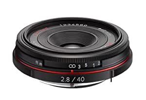Pentax HD Pentax-DA 40mm F2.8 Limited Objektiv schwarz