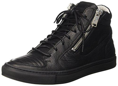 Antony Morato Mmfw00734-Le300002, Sneaker a Collo Alto Uomo, Nero, 42 EU