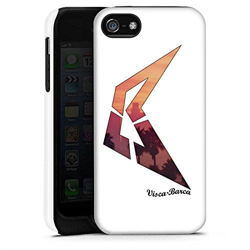 Apple iPhone X Silikon Hülle Case Schutzhülle Visca Barca Fanartikel Merchandise Visca98Barca Youtuber Tough Case matt