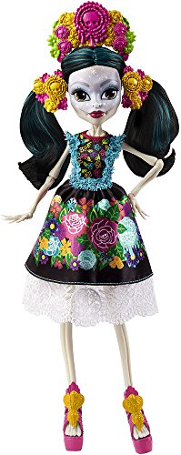 Monster High DPH48 Skelita Calaveras Collector Puppe Mattel DPH48-Skelita (Monster High Skelita Kostüm)