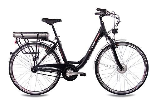 E-Bike Trekking und City Bike für Damen – E-Lady schwarz Bild 2*