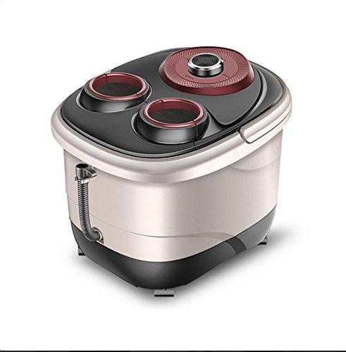 Preisvergleich Produktbild Fußbad Spa Mit Warmwasserbereiter, Deep Barrel Self Massage Wash Fuß,  Elektrische Begasung Bubble Foot Machine Home