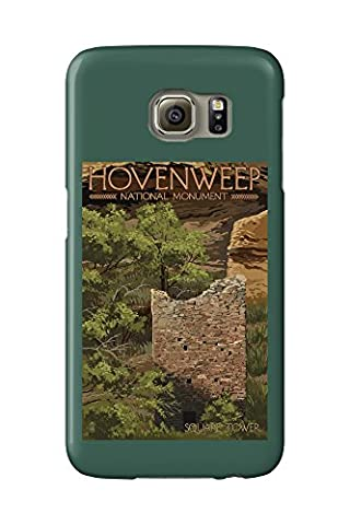 Hovenweep National Monument, Colorado - Square Tower (Galaxy S6 Cell Phone Case, Slim Barely There)