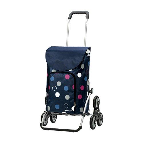 Andersen Shopper Royal Treppensteiger und 41 Liter Tasche Kira blau mit Kühlfach
