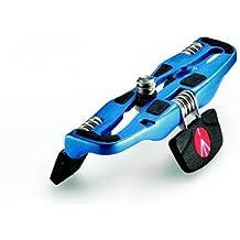 Manfrotto MP1-BU - Mini trípode portátil, pequeño, azul