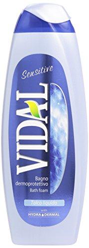 Vidal Bagno Dermoprotettivo, talco liquido, 500 ml