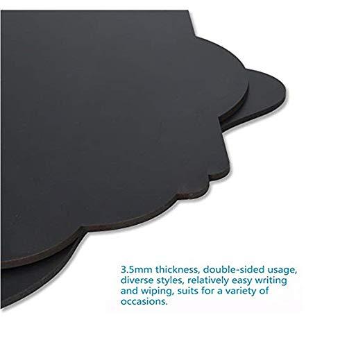 MUXItrade 2 PCS Lavagna da appendere legno lavagnette messaggi ...
