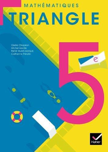Triangle Mathématiques 5e éd. 2010 - Manuel de l'élève (format compact) by Michel Mante (2010-05-12) par Michel Mante;Gisèle Chapiron;René Mulet-Marquis;Catherine Pérotin