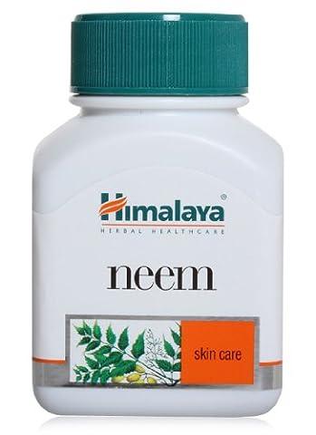 Himalaya Herbal Neem / Neembaum / Azadirachta Indica Akne Hautpflege Anti Bakterielle 60 Capsule