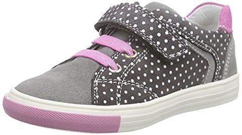 Richter Kinderschuhe Fedora, Mädchen Sneakers, Grau (rock/pebble/lollypop 6101), 26 EU