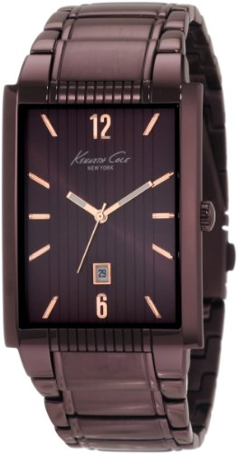 Kenneth Cole Men's Analogue Watch KC9046 with Brown Ion Plated Stainless Steel Bracelet