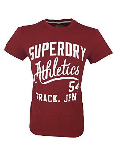 Superdry -  T-shirt - Maniche corte  - Uomo rosso Small